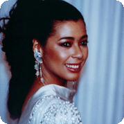 Irene Cara at the Oscars